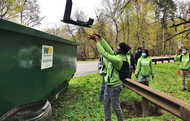 Whitby Meadows Cleanup