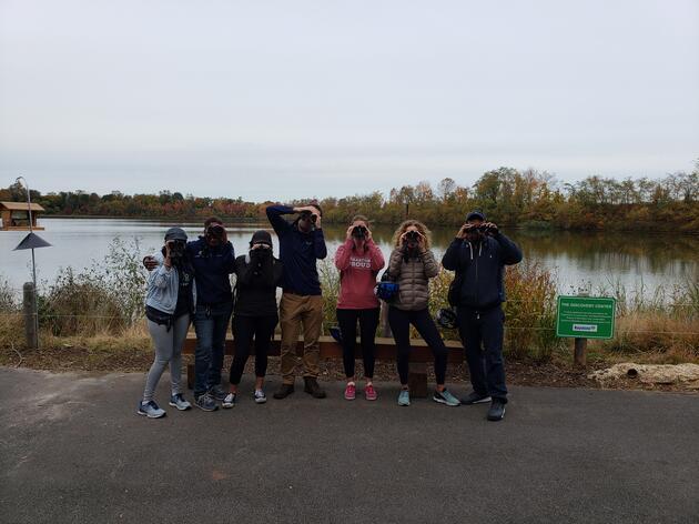 Birds of the Strawberry Mansion Reservoir