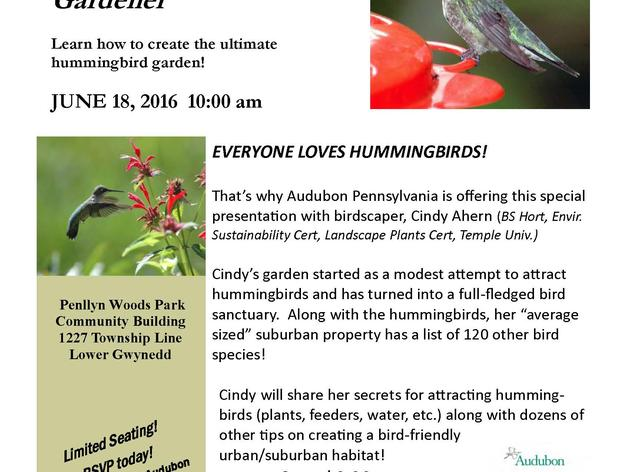 The Hummingbird Gardener